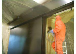 Industrial Door Painting TATE London