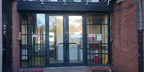 Rear Entrance Doors TSB Birmingham