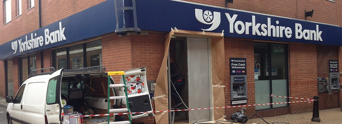 Shop Front Spraying Ashton