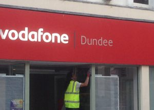 Shop Front Spraying Dundee